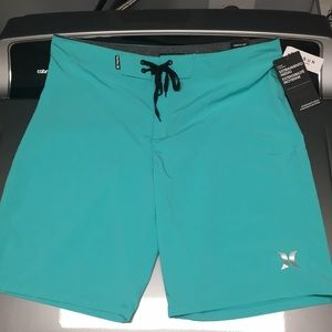 NWT Hurley Shorts Size 34 Length 20""